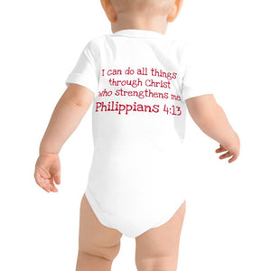 Baby Body - Baby Body - Joseph Firefighter - Philippians 4:13