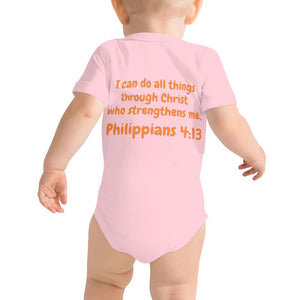 Baby Body - Baby Body - Joseph Tennis Player - Philippians 4:13