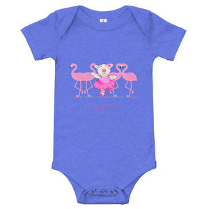 Baby Body - Baby Body -  Joy Ballerina Flamingos - Psalm 150:4