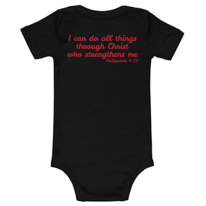 Baby Body - Baby Body - Joy Cheerleader -  I Can Do All Things Through Christ