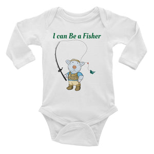 Baby Body - Baby Body Long Sleeve - Joseph Fisher - Philippians 4:13
