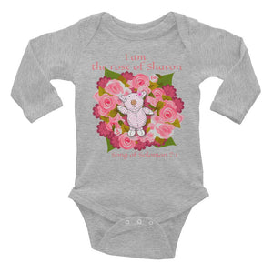 Baby Body - Baby Body Long Sleeve - Joy Roses - Song Of Solomon 2:1