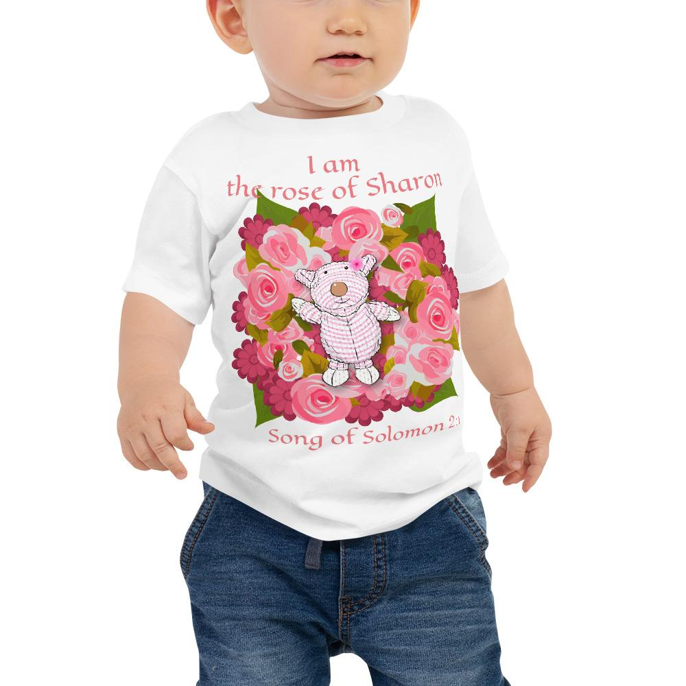 Baby Body - Baby T-Shirt - Joy Roses - Song Of Solomon 2:1