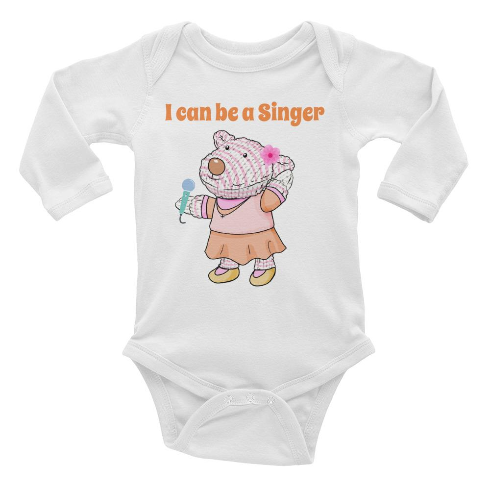 Baby Body Long Sleeve - Baby Body  Long Sleev - Joy Singer 6-18M