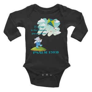 Baby Body Long Sleeve - Baby Body Long Sleeve - Joseph - Psalm 139-8