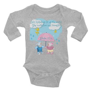 Baby Body Long Sleeve - Baby Body Long Sleeve - Joy And Joseph - Psalm 97:4