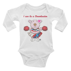 Baby Body Long Sleeve - Baby Body Long Sleeve - Joy Cheerleader 6-24M