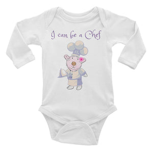 Baby Body Long Sleeve - Baby Body Long Sleeve - Joy Chef 6-24M