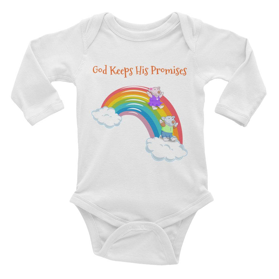 Baby Body Long Sleeve - Baby Body Long Sleeve - Joy & Joseph - God Keeps His Promises