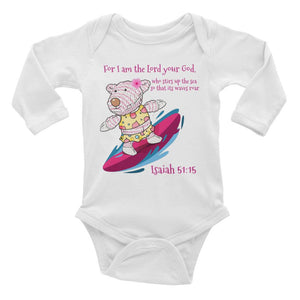 Baby Body Long Sleeve - BABY BODY LONG SLEEVE - JOY SURFER - ISAIAH 51:15
