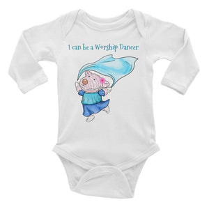 Baby Body Long Sleeve - Baby Body Long Sleeve - Joy Worship Dancer 6-18M