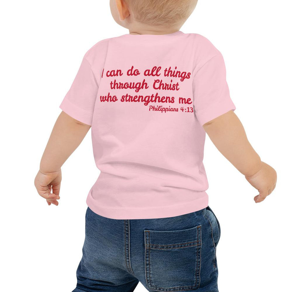 Baby T-Shirt - Baby T-Shirt - Joy Cheerleader - Philippians 4:1