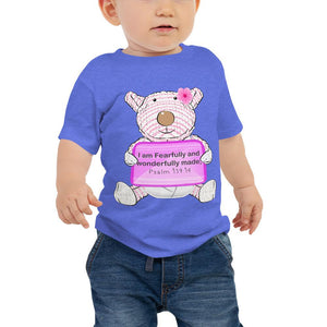 Baby T-Shirt - Baby T-Shirt - Joy - I Am Fearfully And Wonderfully Made