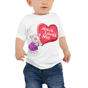 Baby T-Shirt - Baby T-Shirt - Joy - Jesus Loves Me
