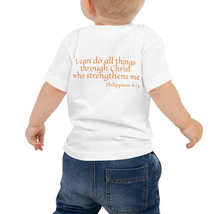 Baby T-Shirt - Baby T-Shirt - Joy Teacher - Philippians 4:13