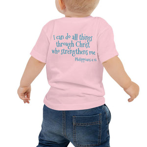 Baby T-Shirt - Baby T-Shirt - Joy Worship Dancer - Philippians 4:13