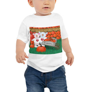 Baby T-Shirt - Be Grateful & Thankful - 1 Chronicle 16:34