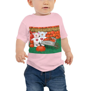 Baby T-Shirt - Thankful - 1 Chronicles 16:34