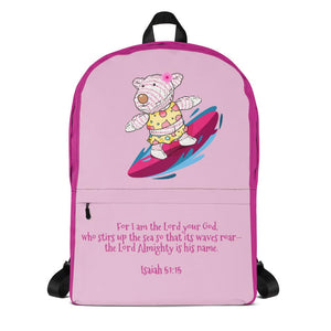 Backpack - Backpack - Joy Surfer - Isaiah 51:15