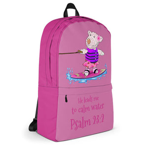 Backpack - Backpack Joy Wakeboard - Psalm 23:2