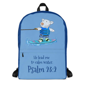 Backpack - Backpack - Wakeboard Joseph - Psalm 23:2