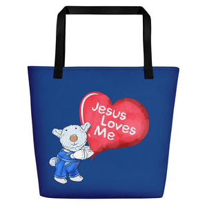Beach Bag - Bag - Jesus Love Me - ©Joseph