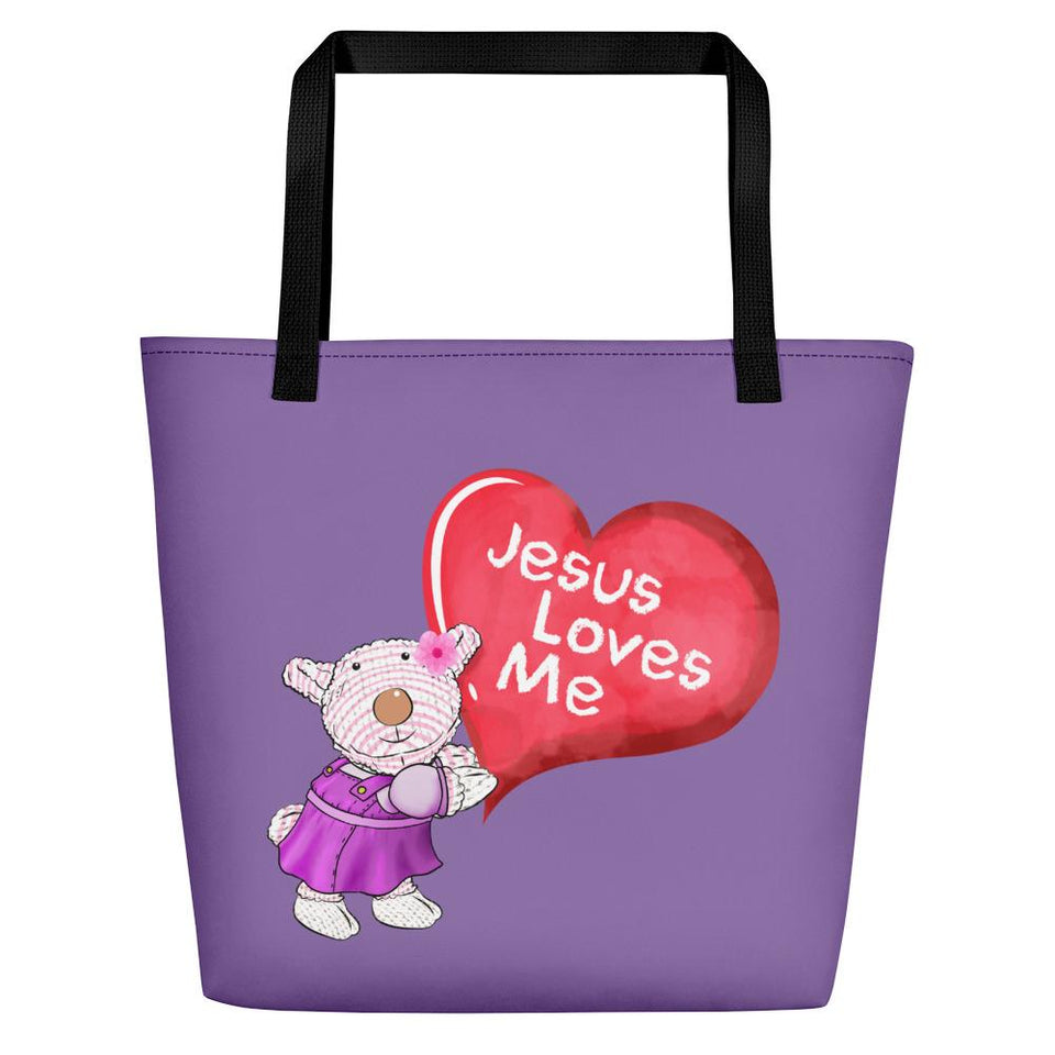 Beach Bag - Bag -  Jesus Loves Me - ©Joy