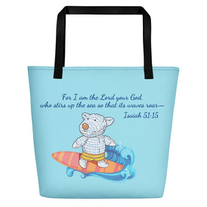Beach Bag - Bag - Joseph Surfer - Isaiah 51:15