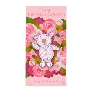 Beach Towel - Towel - Joy Roses - Song Of Solomon 2:1