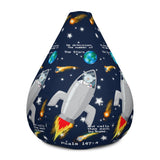 Bean Chair - Bean Bag Chair - Joseph SpaceShip - The Stars - Psalm 147:4