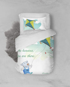 Bedding - Twin Duvet Cover Set - Joseph's Kite - Psalm 139:8