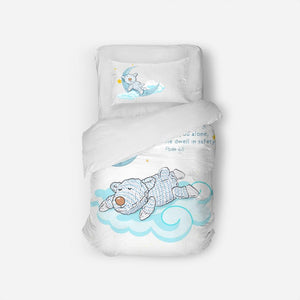 Bedding - Twin Duvet Cover Set - Joseph Sleeping - Psalm 4:8