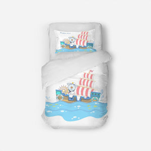 Bedding - Twin Duvet Cover Set - Sailor Joseph - Psalm 93:4