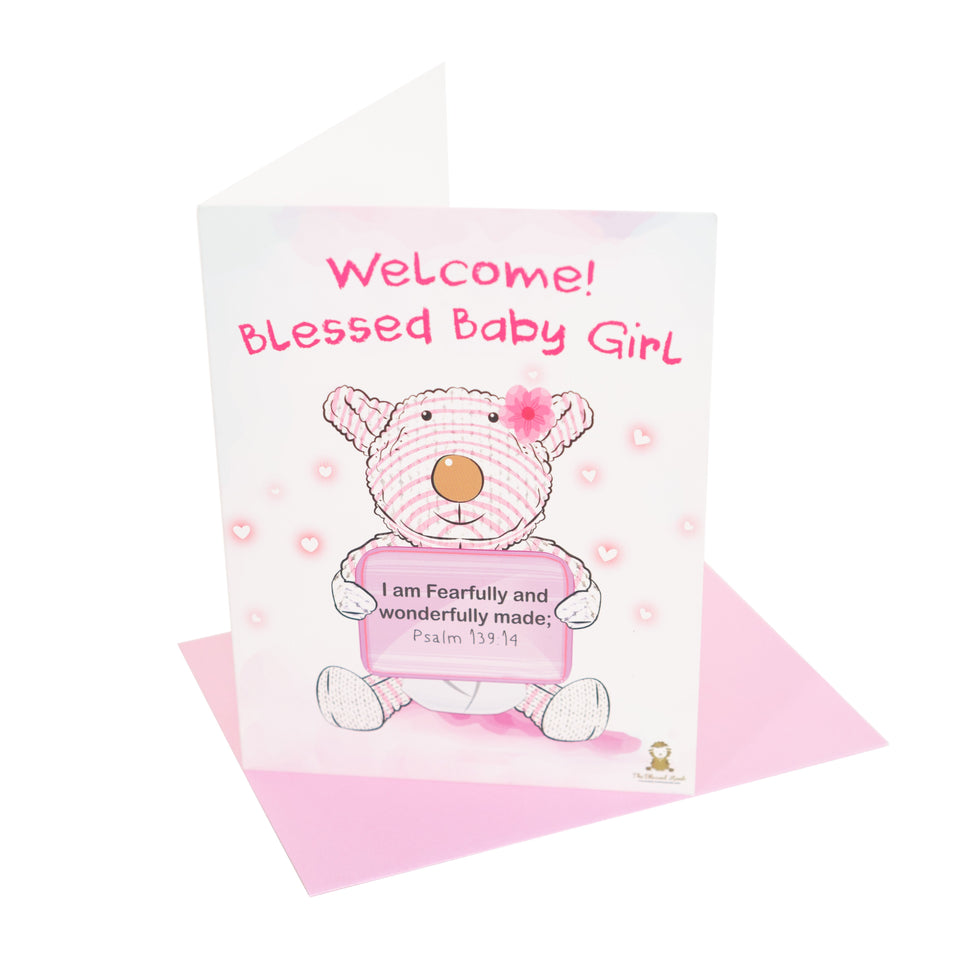 Blessed Baby Card - Welcome Blessed Baby - Joy Card