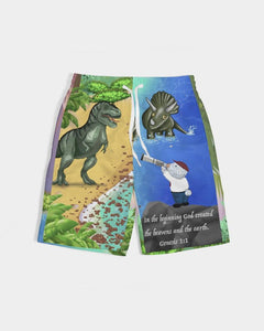Cloth - Joseph And Dinosaurs Boy's Swim Trunk