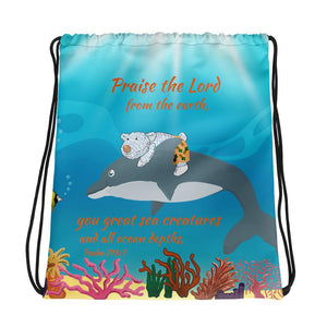 Drawstring Bag - Drawstring Bag - The Sea - Joseph - Psalm 148:7
