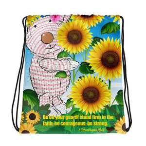 Drawstring Bag Joy Sunflower