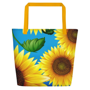 Fun Bags - Bag - Joy Sunflowers - 1 Corinthians 16:13