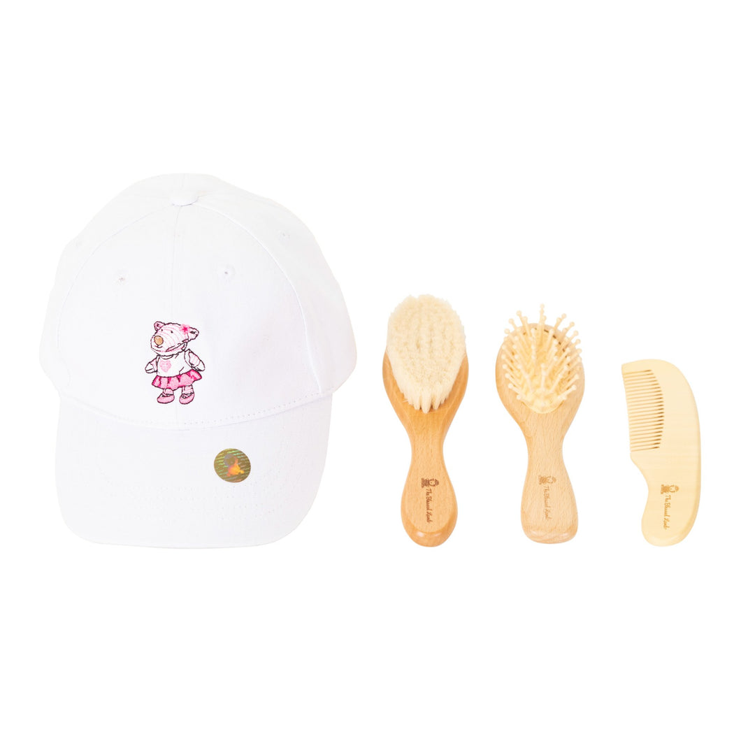 Gift Set - Gift Set -  Brush Set And Hat Joy