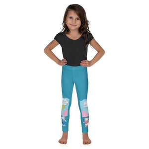 Girls Leggings - Girls Leggings - Joy & Joseph Lightning - Psalm 97:4