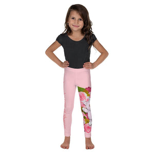 Girls Leggings - Girls Leggings - Joy Roses - Song Of Solomon 2:1