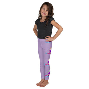 Girls Leggings - Girls Leggings- Joy Wake Board Psalm 23:2