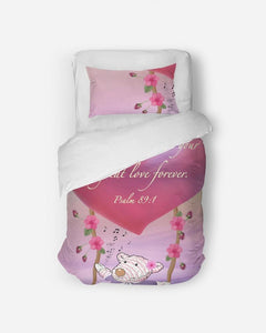 Home Goods - Great Love Twin Duvet Cover Set