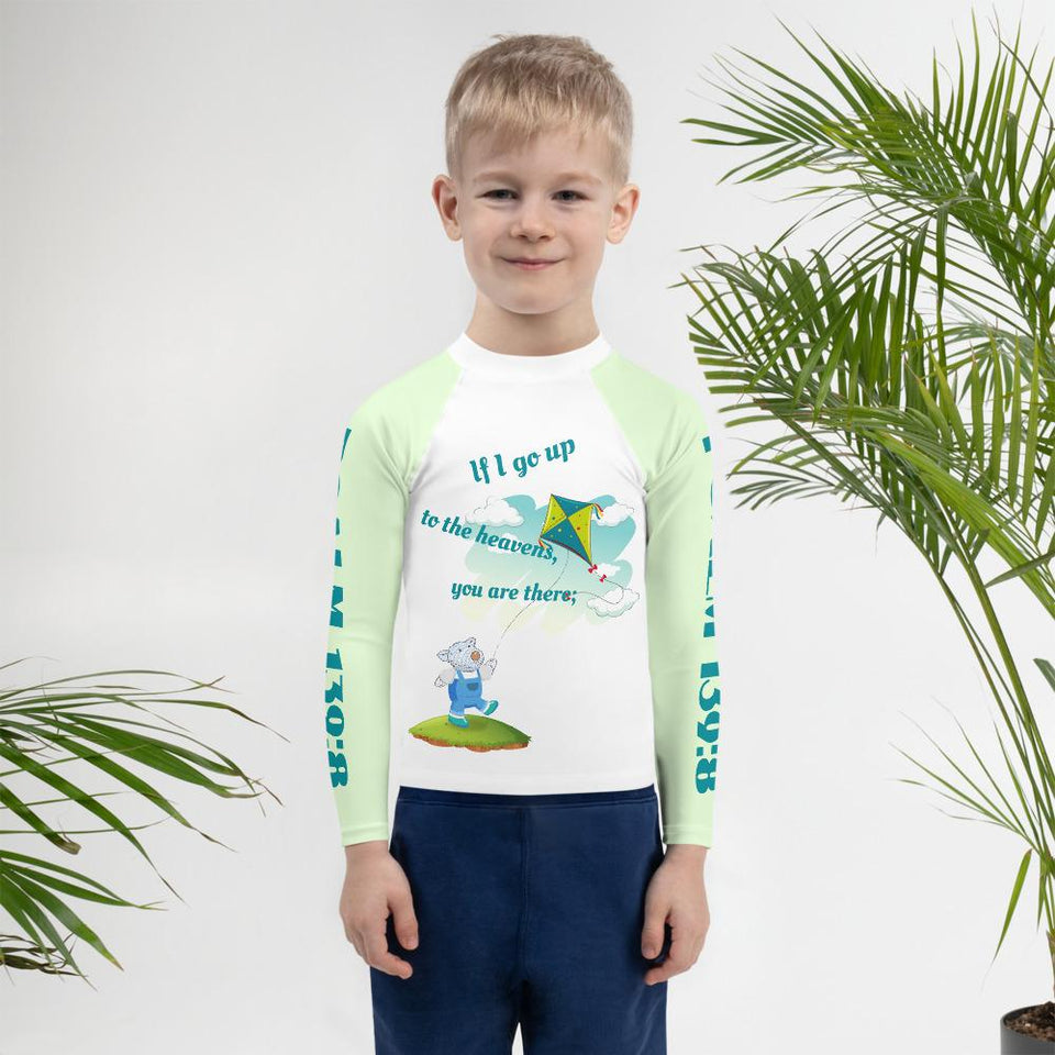 Kids Rash - Kids Rash Guard - Joseph - Psalm 139:8