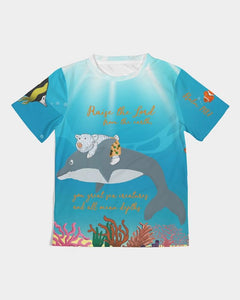 Kids T-Shirt - Boy's T-Shirt - The Sea Joseph - Psalm 148:7