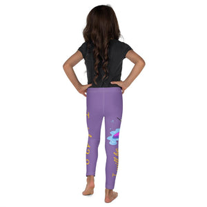Legging - Kid's Leggings - Joy Paddleboard 2T-7 Isaiah 43:2