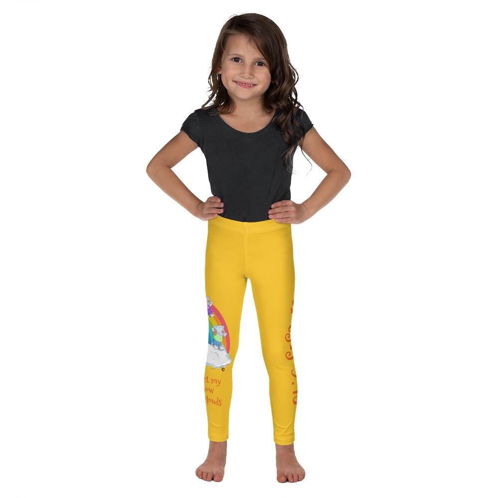 Leggings - Girls Leggings - Joy And Joseph Rainbow - Genesis 9:13