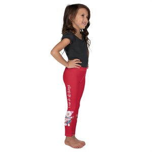 Leggings - Girls Leggings - Joy Cheerleader - Philippians 4:13