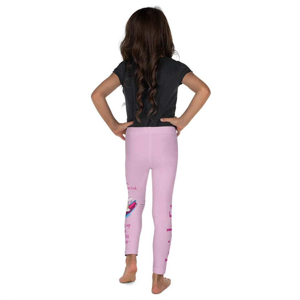 Leggings - Girls Leggings- Joy Surfer - Isaiah 51:15