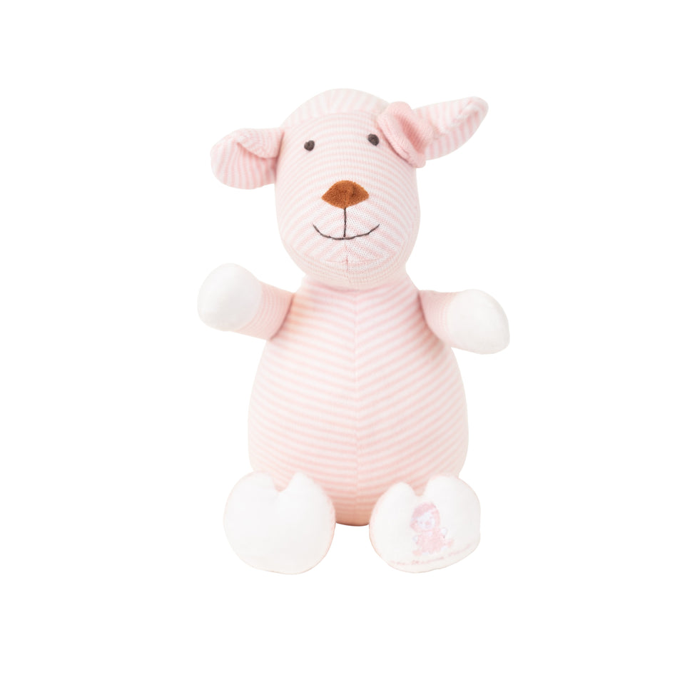 New Born Gift Set - Joy Knitted Lamb - Small